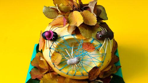 Поделки на тему Золотая осень из природного материала для детей 2