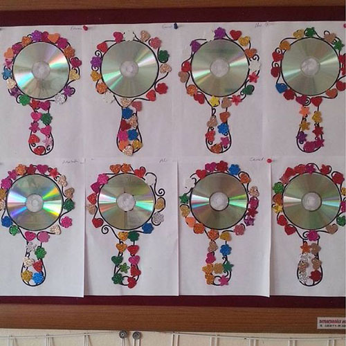 поделки ко дню матери в детском саду младшая группа своими руками 6