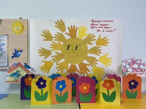 поделки ко дню матери в детском саду своими руками средняя группа 9
