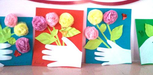 поделки ко дню матери в детском саду своими руками средняя группа 6