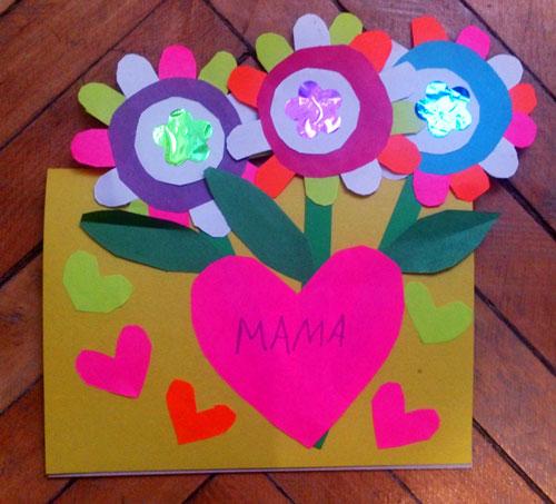 поделки ко дню матери в детском саду своими руками средняя группа 4