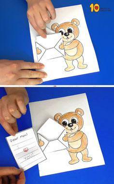 поделки ко дню матери в детском саду своими руками средняя группа из бумаги 8