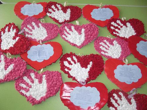 поделки ко дню матери в детском саду своими руками средняя группа 2