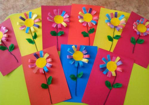 Поделки ко Дню матери в детском саду для детей 3-4 лет