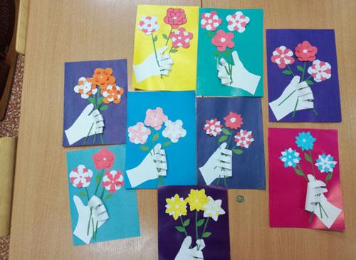Поделки ко Дню матери в детском саду для детей 7 лет